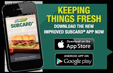 subway loyalty program