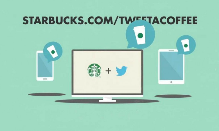 starbucks tweet a coffee